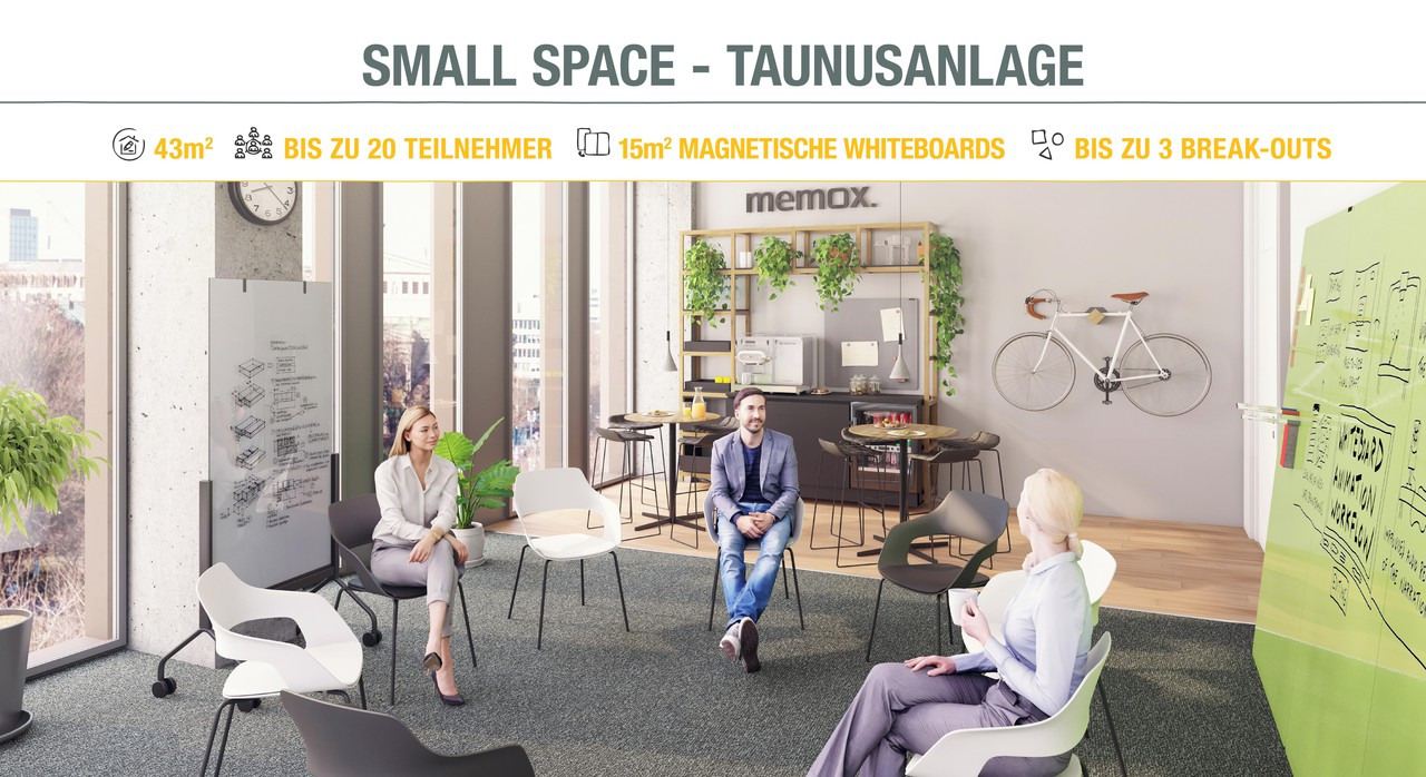 Frankfurt Schulungsräume Meeting room memox. Small Space #2 image 0