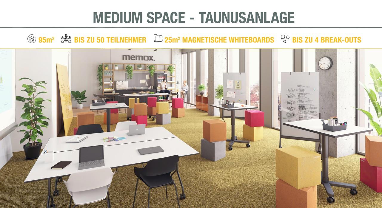Frankfurt Schulungsräume Meeting room memox. Medium Space #1 image 0