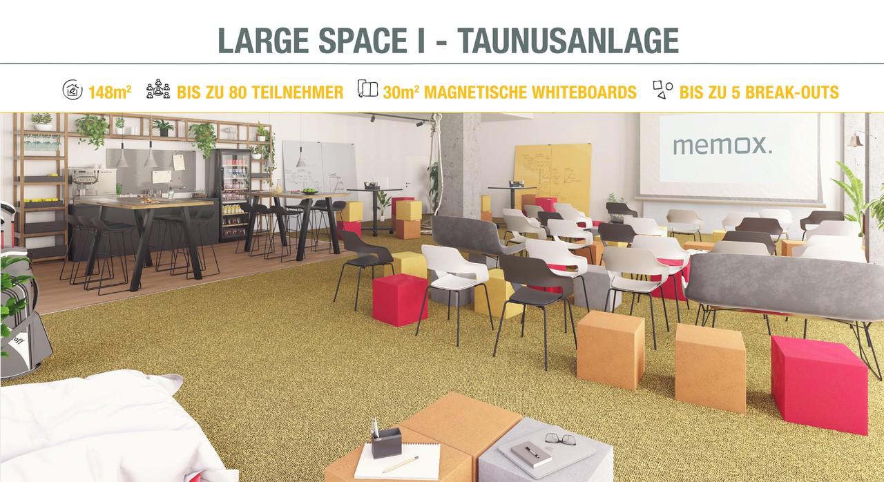 Frankfurt am Main Schulungsräume Meetingraum memox. Large Space #1 image 0