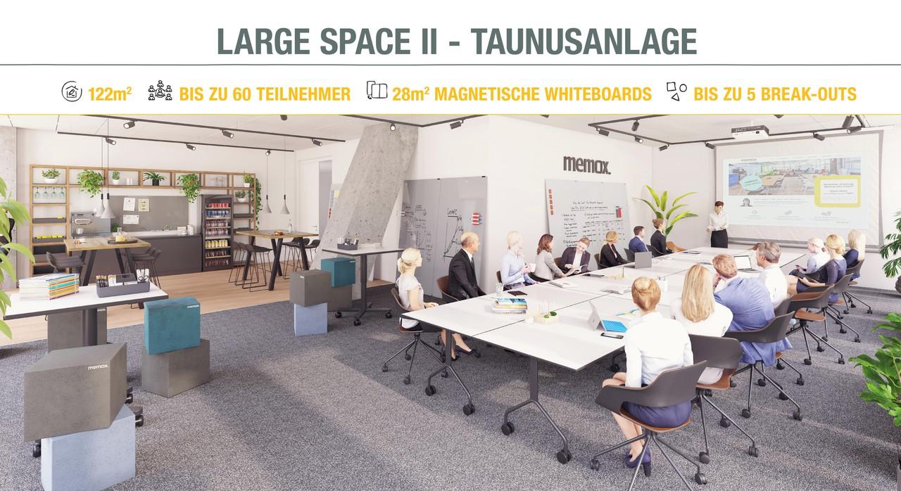 Francfort Schulungsräume Salle de réunion memox. Large Space #2 image 0
