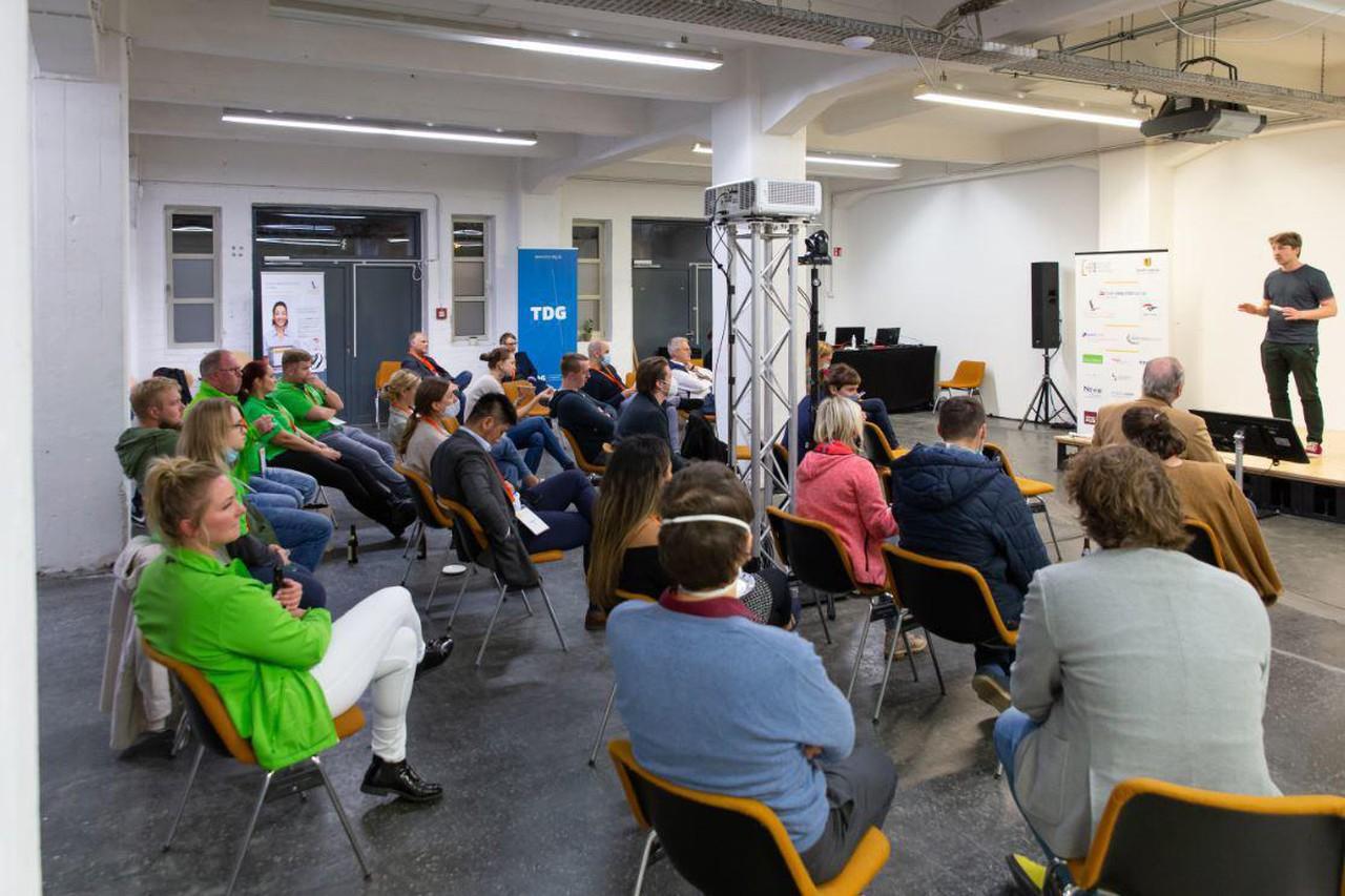 Leipzig Schulungsräume Espace de Coworking Impact Hub Leipzig - Event Space für bis zu 50 Personen image 1