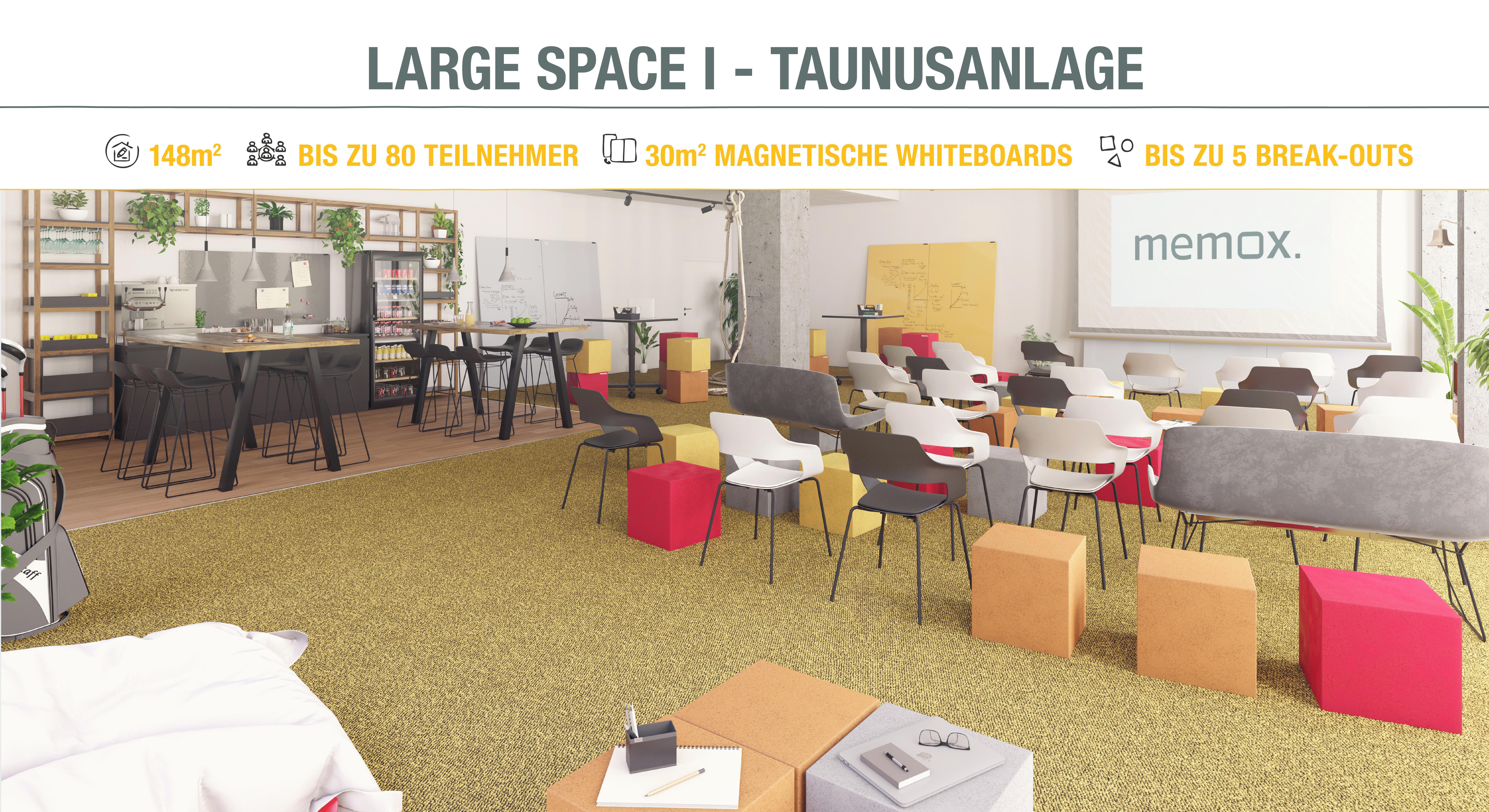 Frankfurt Schulungsräume Meeting room memox. Large Space #1 image 0